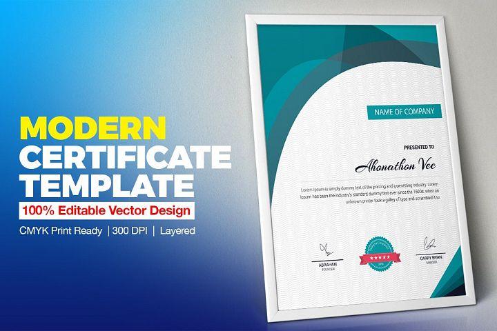 Certificate Design | Certificate Template | Vol. 11