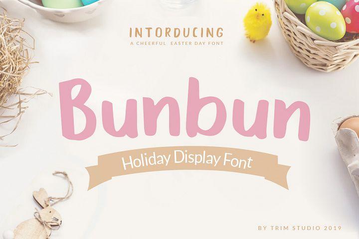 Bunbun - Holiday Font