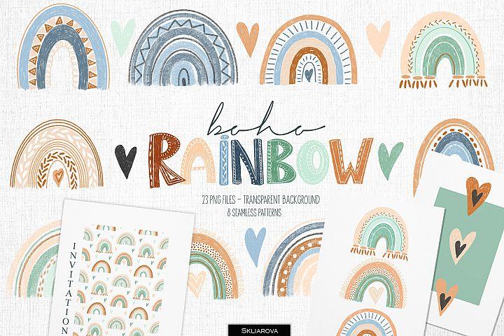 Boho rainbow