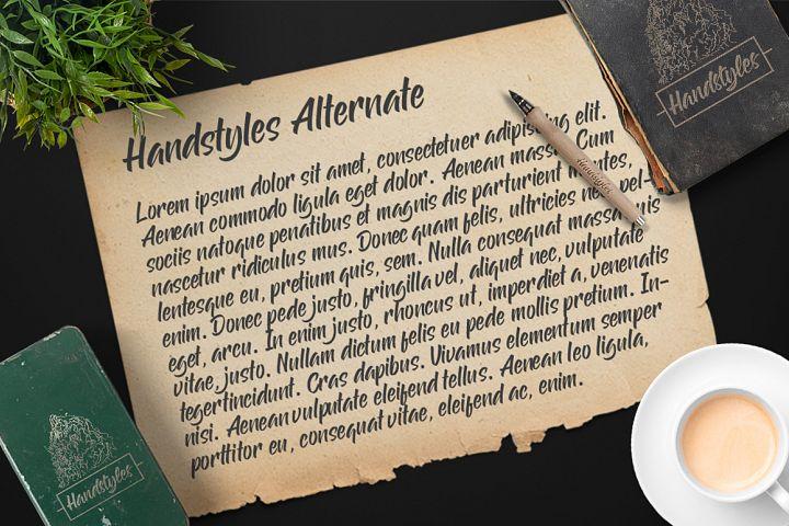 Handstyles example image 5