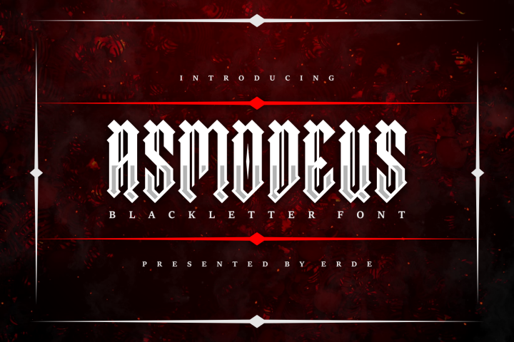 Asmodeus - Blackletter