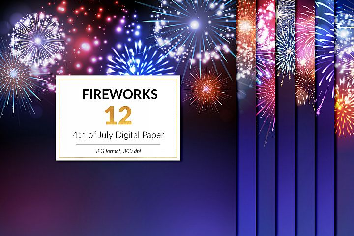 Fireworks Digital Paper