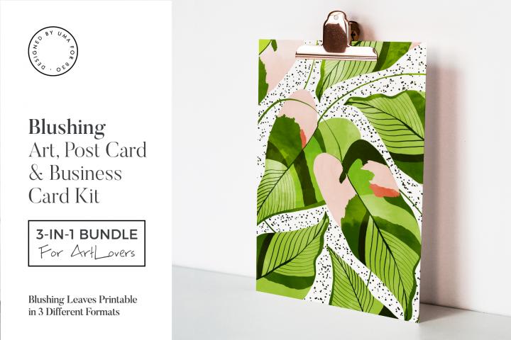 Blushing Leaves Art & Stationary Kit