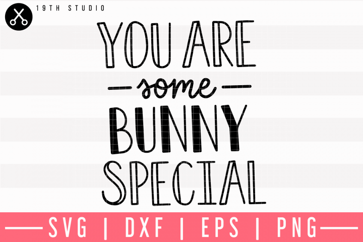 You Are Some Bunny Special SVG | M9F16