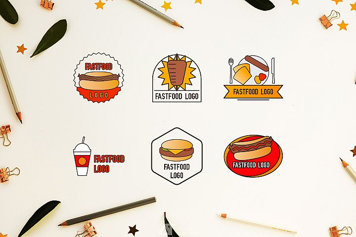 Fast Food Small Restaurant Logos