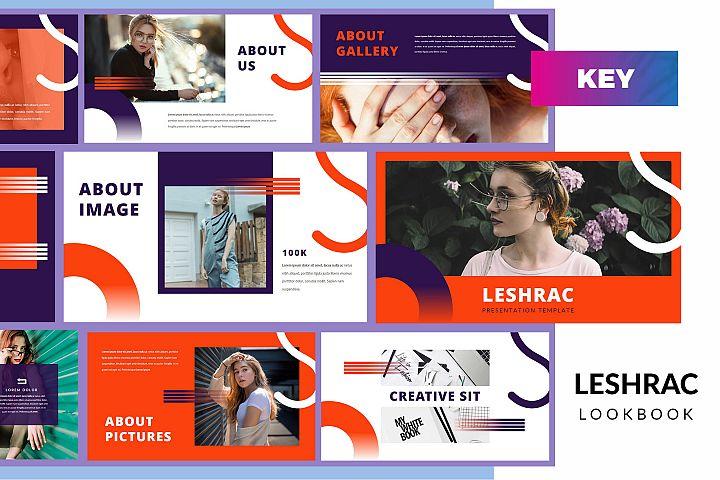 Leshrac - Lookbook Keynote Template