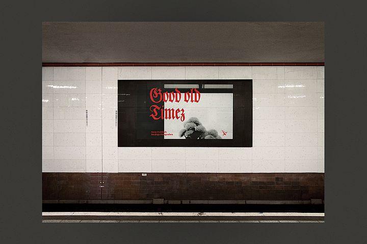 Mockup - Billboard - Station