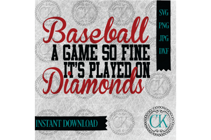 Baseball SVG, Diamonds SVG, Sports SVG, Baseball Mom, Cricut