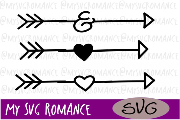 Arrow Set - Ampersand - Hearts - SVG