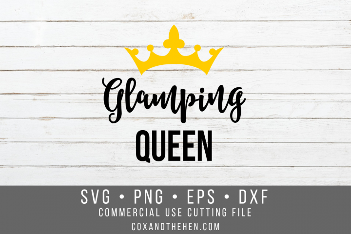 Glamping Queen SVG