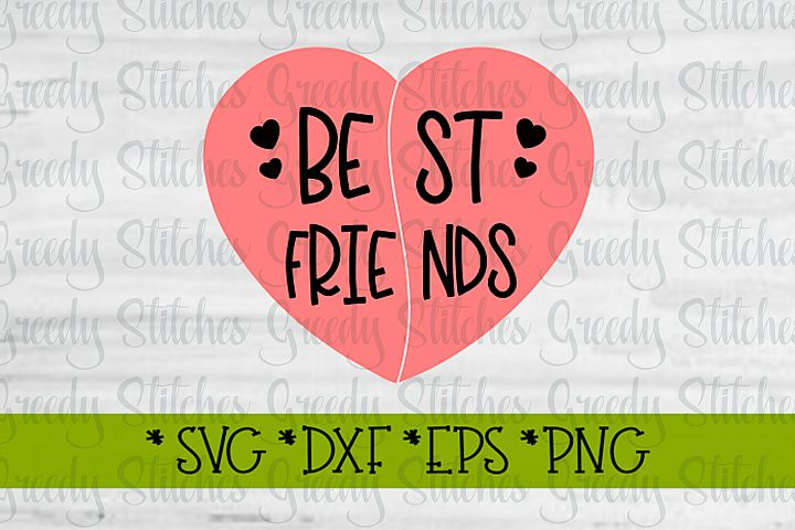 Best Friends SVG DXF EPS