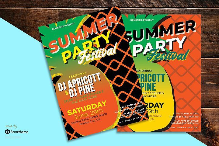 Summer Party Flyer vol.01