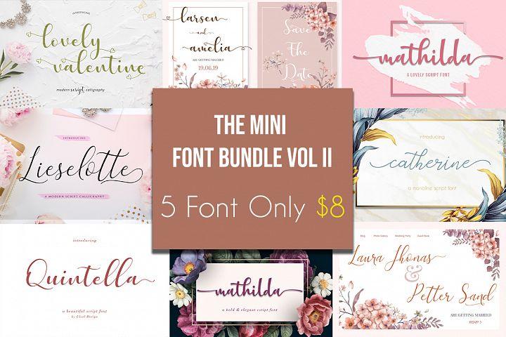The Mini Font Bundle Vol II