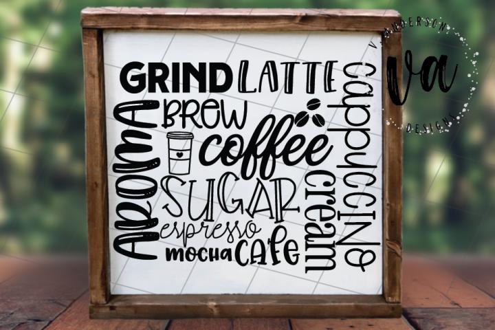 Coffee Subway Art SVG