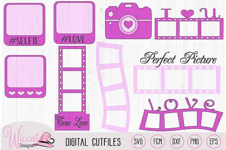 Valentine photo kit, photo elements