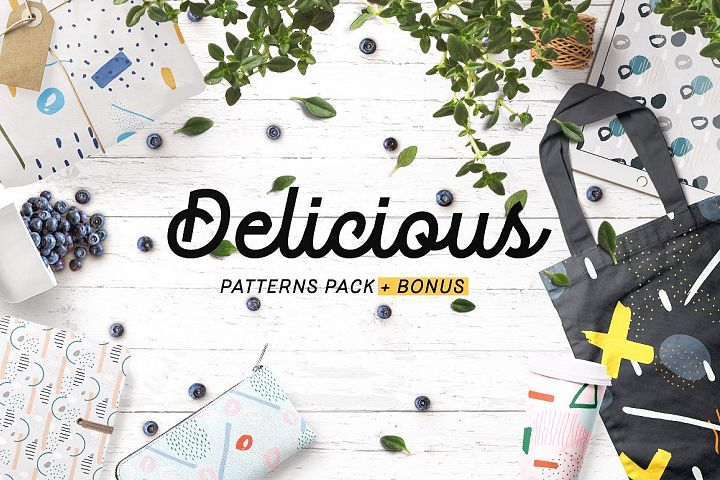 Delicious Patterns Pack + Bonus