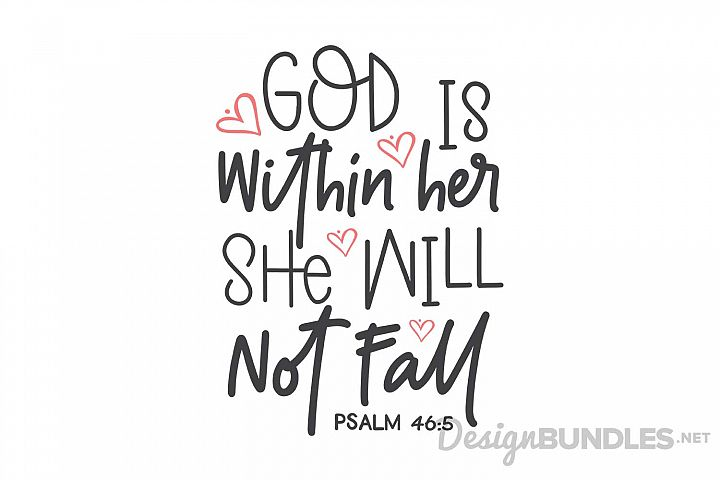Psalm 46 5 - Free Design of The Week