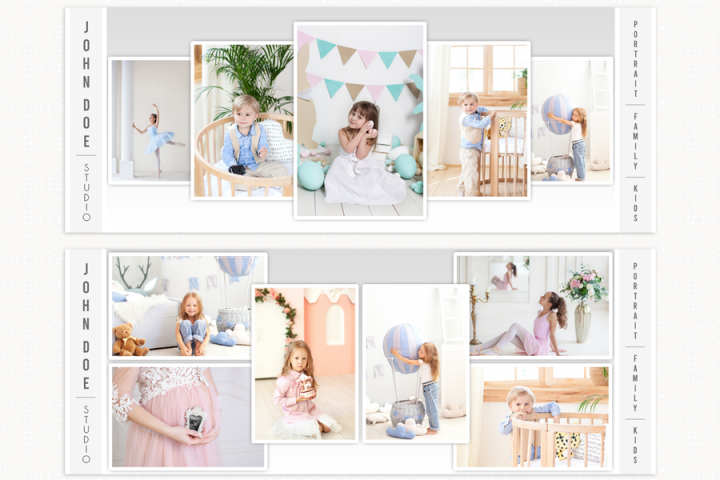 Facebook Cover Template Photography, Collage Facebook Cover