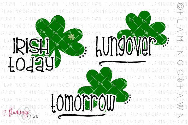 St Patricks day matching group bundle svg dxf eps png