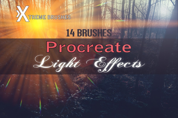 Procreate Light Effects!