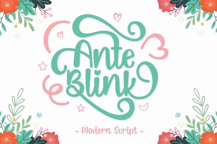 Ante Blink