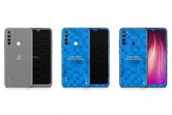 Redmi Note 8 2019 PSD Skin Mockup Template