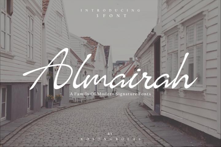 Almairah Family Font