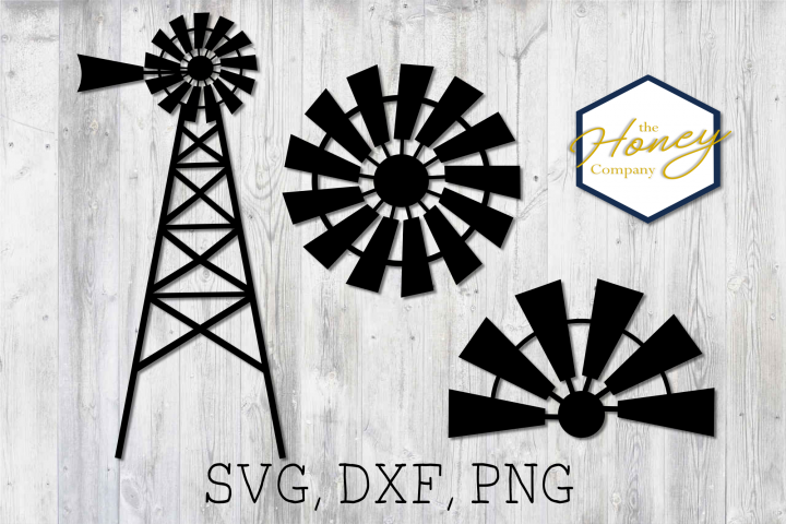 Home SVG PNG DXF Farm Windmill Sign Cutting File Vector