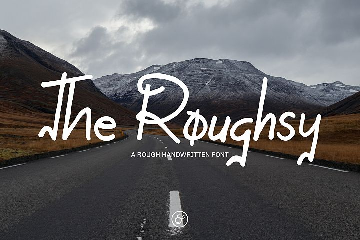 The Roughsy - Handwritten Font