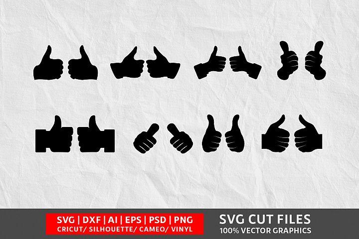 Thumbs SVG Cut File
