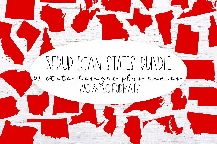 The Republican United States Bundle -PNG Clip Art and SVG cu