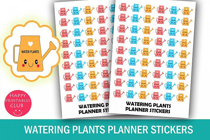 Watering Plants Reminder Stickers- Water Plants Stickers