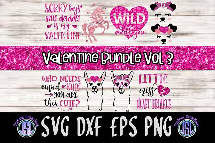 Valentine Bundle Vol 3 | Set of 9 | SVG DXF EPS PNG
