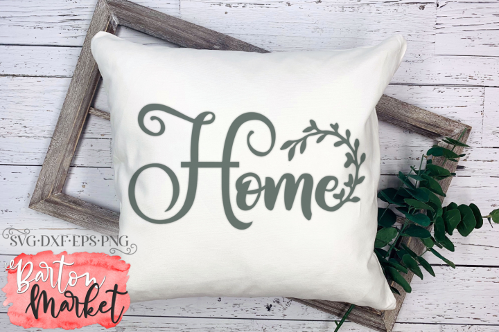 Home Wreath SVG DXF EPS PNG