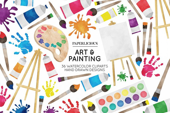 Paiting Cliparts