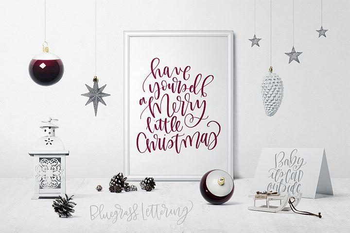 Handlettered Holiday