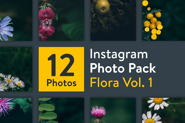 Instagram Photo Pack - Flora Vol. 1 example 1