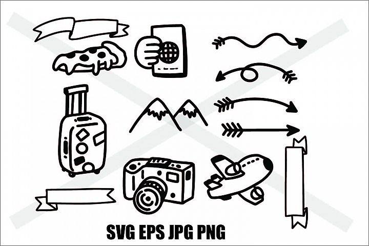 Adventure Set 2 - SVG EPS JPG PNG