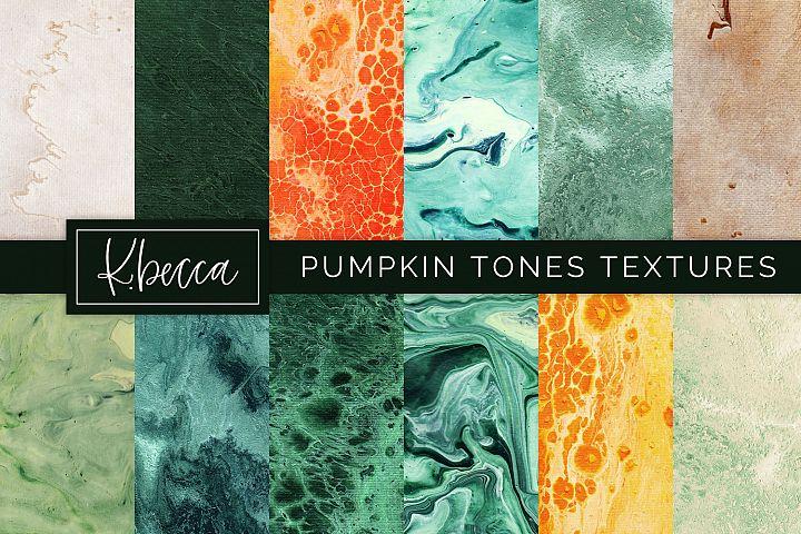 Pumpkin Tones Background Textures