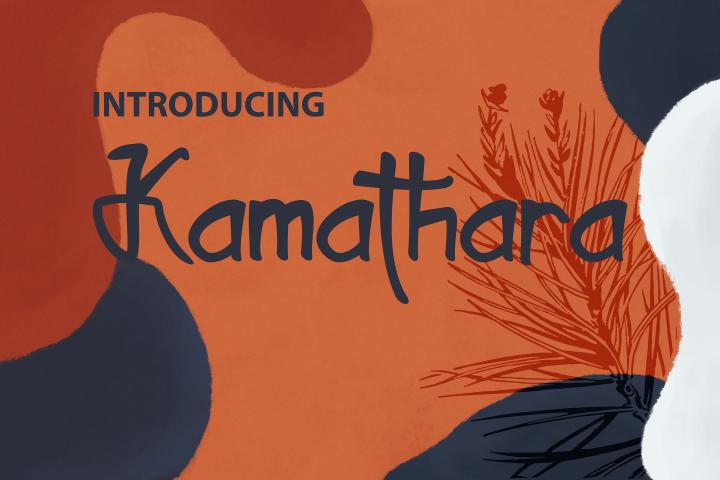 Kamathara UniqueFont