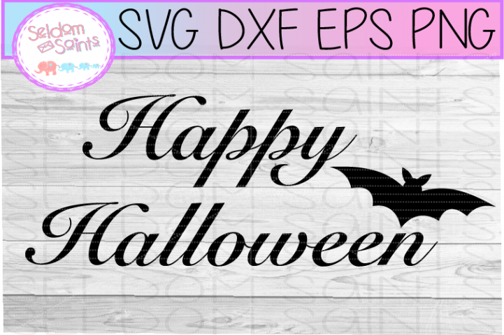 Happy Halloween SVG PNG DXF EPS Cricut Cut File