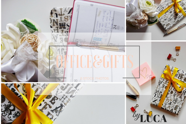 6 Beautiful Office&Gifts STOCK PHOTOS