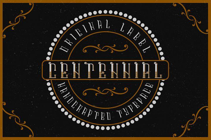 Centennial typeface