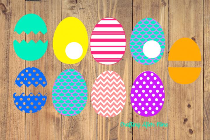 Easter Egg Svg, Easter Egg Bundle, Happy Easter, Easter Svg