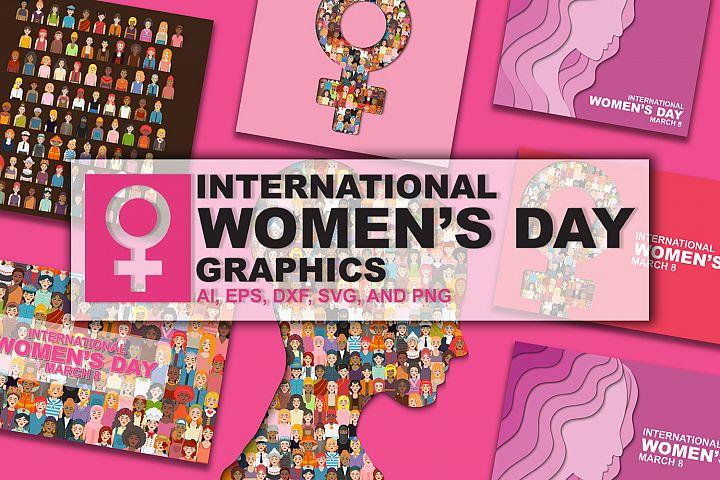International Womens Day graphic design