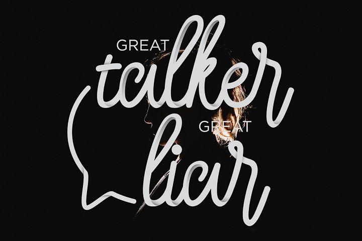 Larquette Typeface example 6