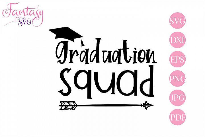Graduation squad - svg cut file