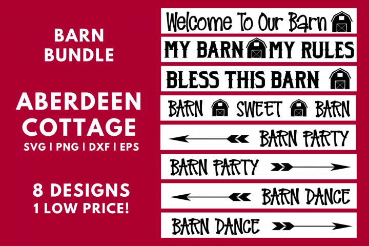Barn Bundle - Eight Designs