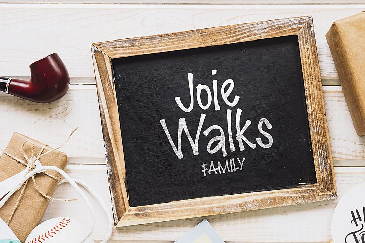 Joie Walks Family