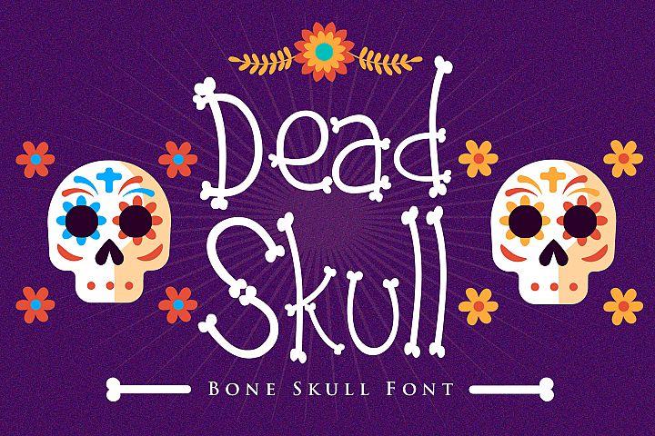Dead Skull - Bone Skull Font
